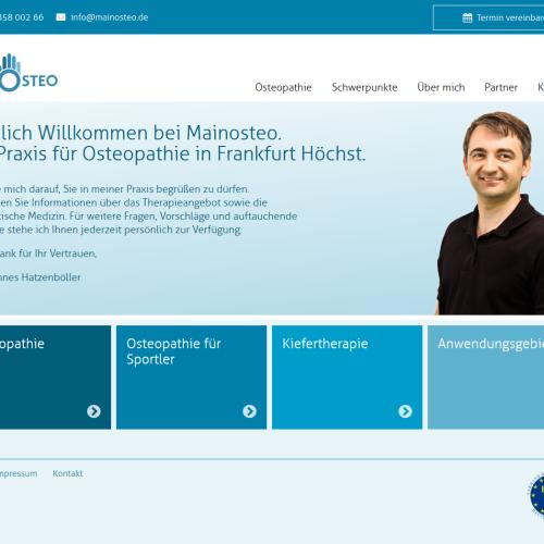 Mainosteo Webdesign