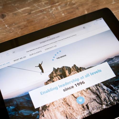 Bridge Consulting Screenshot Tablet